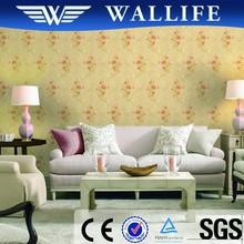 DI10304 2015 new design heavy vinyl coated wallpaper home