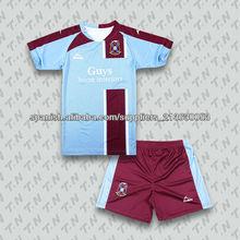personalizar ropa deportiva de fútbol uniforme de sublimación de fabrica