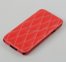 Vetti Craft Genuine Leather Case Slim Flip Dimand Series Phone Case for Samsung Galaxy S5