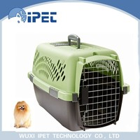 Industrial direct selling wheels plastic pet cage