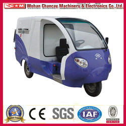 China Three Wheel Sanitation Vehicle, Garbage Cleaning Truck