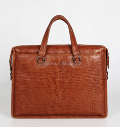 Leather Guangzhou Baiyun Business Bags Wholesale Man's Genuine Leather Laptop Bag