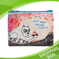 Fashion Design Custom Hot Selling Top Qulity Zip Top Catoon Picture Cute Printed Pencil Bag For School Kids