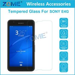 China Price Cheap Mobile Phone Accessories 2.5D 9H For Otao Tempered Glass Screen Protector For Sony E4G