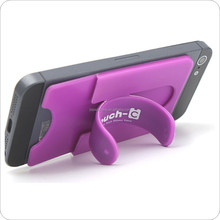 silicone phone stander /Sticker Silicone Phone Stand/universal card holder for smartphone