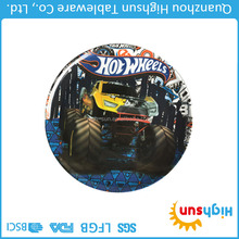 Homeware from China racing cars printing plastic ware coolest melamine plates