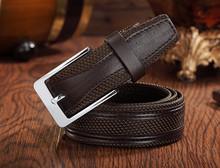 2015 fashion belt/mens cowhide genuine belt/mens genuine leather belt for customised
