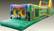 Inflatable Longest Obstacle Course For Adults