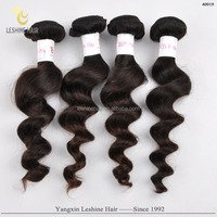 Vogue Collection Factory Directed red color indian remy human hair weaving