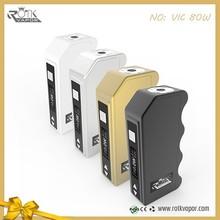 Original Rotkvapr factory supply high mini box mod VIC 80W box mod wholesale made in China