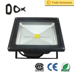Led outdoor lighting CE RoHS approved IP65 cob 70w flood light