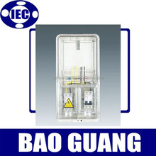 single phase outdoor abs plastic electric meter box