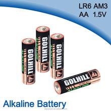 4 Shrink pack am3 size aa lr6 1.5v alkaline battery