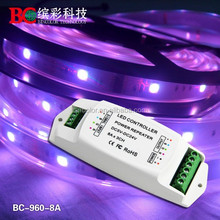 Constant Current led Power Repeater 8A 3 channels Common Anode to Common Cathode led power amplifier