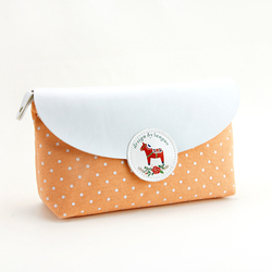 LANGUO beautiful cosmetic bag with horse design