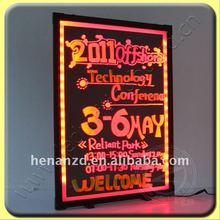 Rechargable led signs