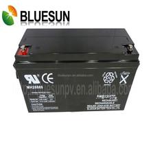Maintenance-free agm/gel 12V 180AH Bluesun ISO CE UL battery store
