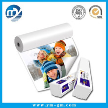 Factory supply glossy photo paer & matte side glossy photo paper