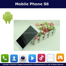 Competitive Price 5.5 Inch White 4G China Mobile Phone S6 With Android 5.0