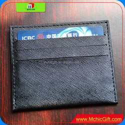 2015 Latest design wallet men leather/handmade bank card wallet with great price