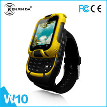 Dual sim card dual standby Bar Type QCIF 1.44'' 0.08 Mega Pixels waterproof touch screen cheap wrist watch tv mobile phone