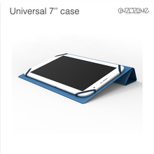 """Stylish universal leather case flip cover for tablets 7"""""""