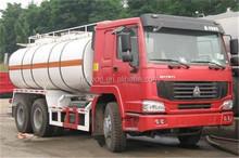 SINO used fuel tanker truck / 18m3 fuel tanker truck for sale