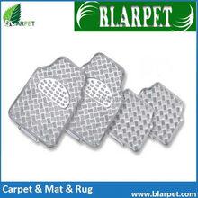 Contemporary stylish current PVC aluminium car mat
