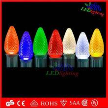 Led String Light 15M AC220V Colorful Holiday Led Lighting Waterproof Outdoor Decoration Light 12v led c7 & c9 led bulbs