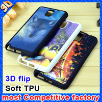 Newest popular soft TPU 3D phone case for samsung galaxy case for galaxy s6