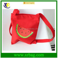 New colorful fruit cotton canvas tote shopping bags