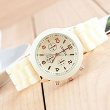 Colorful silicone watch wholesale cheap vulcanized rubber watch strap