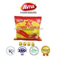 Halal 4g Chicken Bouillon Cubes suit for nigeria market [AVIVA CUBES]