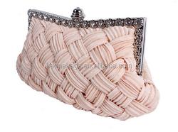 Import goods China silk fashion new hand bag women 2015