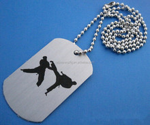 Customized metal dag tag OEM logoed