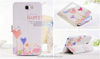 Ultra slim crossing lines high quality material open window diamond case for Samsung galaxy S4 I9500