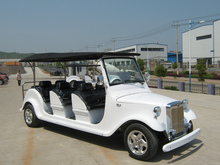 8 seats luxury electric sightseeing classic car