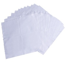 Bulk Zigzag Microfiber Glass Cleaning Cloth