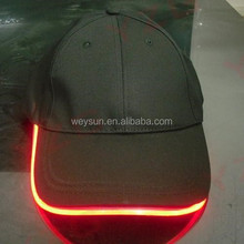 Caps with Led Lights, Lighting Baseball Caps with adjustable fastening
