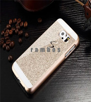 Celular Shiny Bling Glitter Mobile Phone Case Plastic Protective Back Cover for Samsung Galaxy A3 A5 A7 Note 3 Note 4