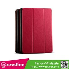Fast Shipping KLD Oscar Series Tri-fold Smart Wake / Sleep Leather Stand Shell Case for iPad Air