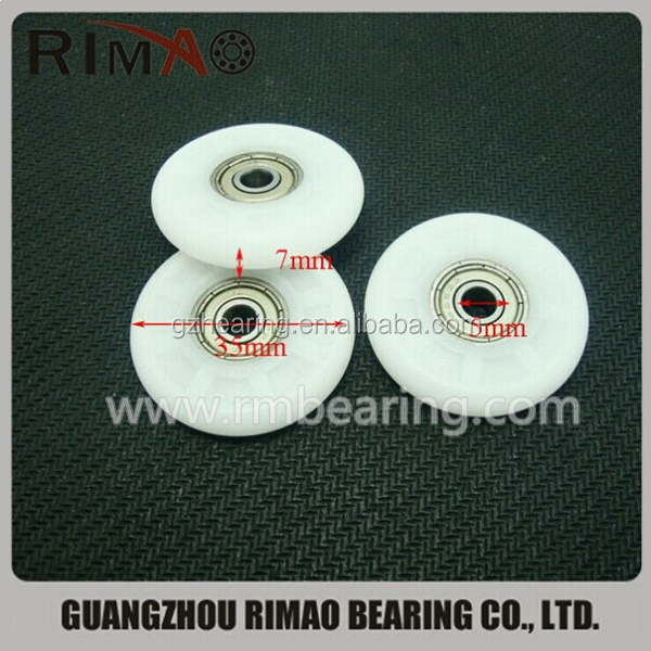 5-35-7mm window sliding roller bearing pulley for wardrobe.jpg