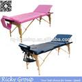 Mesa de masaje portátil, aluminio mesa de masaje, mesa de masaje rq100012-42