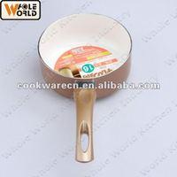 Aluminum White Ceramic Coating Sauce Pan