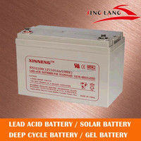 long life span agm deep cycle battery 12v 100ah for solar system/wind system
