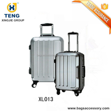 Hardside Aluminum Luggage Case with Removable Wheels