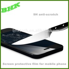waterproof anti-scratch screen protective film for mobile phone ,2.5d tempered glass screen protector
