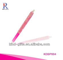 High quality rhinestone crystal ballpiont pen for children