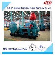 TBW-1400/7 Duplex Mud Pump for Water,CBM,Geothermal Well Drilling