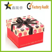 Alibaba factory customized design paper pandora gift box